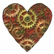 Stock Photo: Mechanical heart