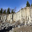Old basalt quarry in The Ore Mountains — Stock Photo