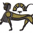 Stock Photo: Sphinx - mythical creature of ancient Egypt