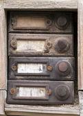 Old doorbells — Stok fotoğraf