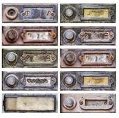 Old doorbells — Stock Photo