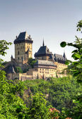 Karlstejn castle — Stock Photo