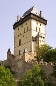 Big Tower - Karlstejn castle — Stock Photo