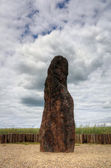 Menhir Stone Shepherd — Stock Photo
