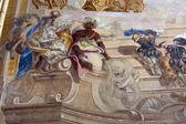 Baroque fresco — Stock Photo