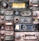 Old doorbells — Stock fotografie