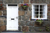 Welsh cottage detail — Stock Photo