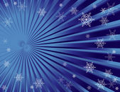 Christmas snowflake background — Vector de stock