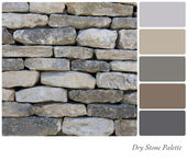 Dry stone palette — Stock Photo