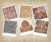 Alhambra texturen — Stockfoto