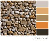 Cobblestone palette — Stock Photo