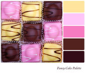 Fancy Cake Palette — Stock Photo