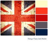 Vlajce vintage paleta — Stock fotografie