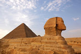 Sphinx of Giza — Stock Photo