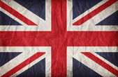 Vintage paper Union Jack — Stock Photo