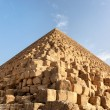 Giza pyramid detail — Stock Photo