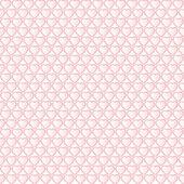 Pink heart seamless — Stock Vector