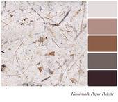 Handmade paper palette — Stock Photo