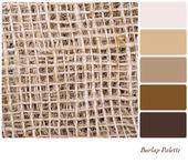 Säckväv palett — Stockfoto