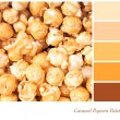 Caramel Popcorn Palette — Stock Photo