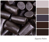 Liquorice palette — Stock Photo