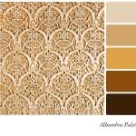 Alhambra Palette — Stock Photo #25681119