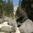 Vernal Falls Yosemite — Stock Video