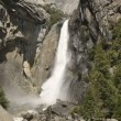 Yosemite Falls waterfall — Stock Video