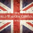 Stock Photo: World War One Centenary Union Jack