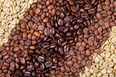 Coffee selection — Stock Photo