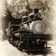 Stock Photo: Antique Locomotive