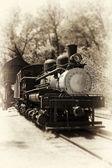 Antique Locomotive — Foto de Stock
