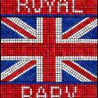 Royal baby mosaic — Stock Vector #28671893