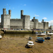 Low tide at Caernarfon — Stock Photo