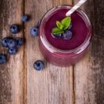 Blueberry smoothie — Stock Photo #29007489