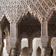 Alhambra, Nasrid columns — Stock Photo