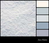 雪パレット — ストック写真