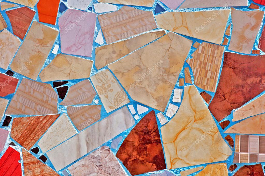 Mosaico di piastrelle rotte foto stock 30153729 - Piastrelle a mosaico ...