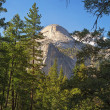 The Half Dome Yosemite — Stock Photo