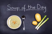 Soup of the day — Stock Photo