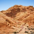 Valley of Fire rock formations — Stock Photo