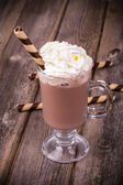 Hot chocolate vintage — Stock Photo