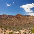 Red Rock Canyon pano — Stock Photo