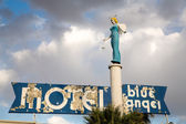 Blue Angel Motel — Stock Photo