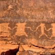 Petroglyphs in the Valley of Fire — Stock Photo #32535267
