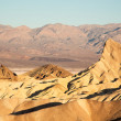 Zabriske Point at dawn — Stock Photo
