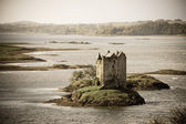 Stalker Castle vintage — Stock Photo