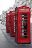 Cabines téléphoniques sur le royal mile — Photo