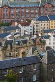 Edinburgh rooftops. — Stock Photo