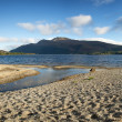 Loch Lomond pano — Stock Photo